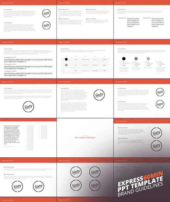 GraphicRiver Express Power Point Template 9278949
