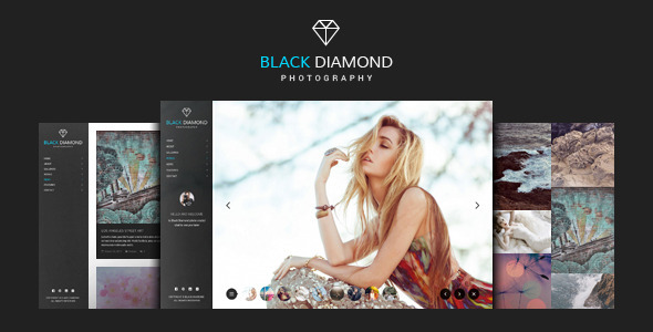ThemeForest DIAMOND Photography WordPress Theme 9274644