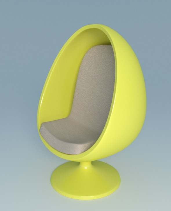 3DOcean Chair Egg 9328002