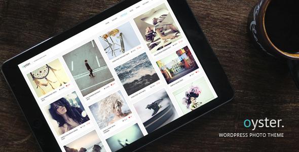Oyster - Creative Photo WordPress Theme - Photography Creative