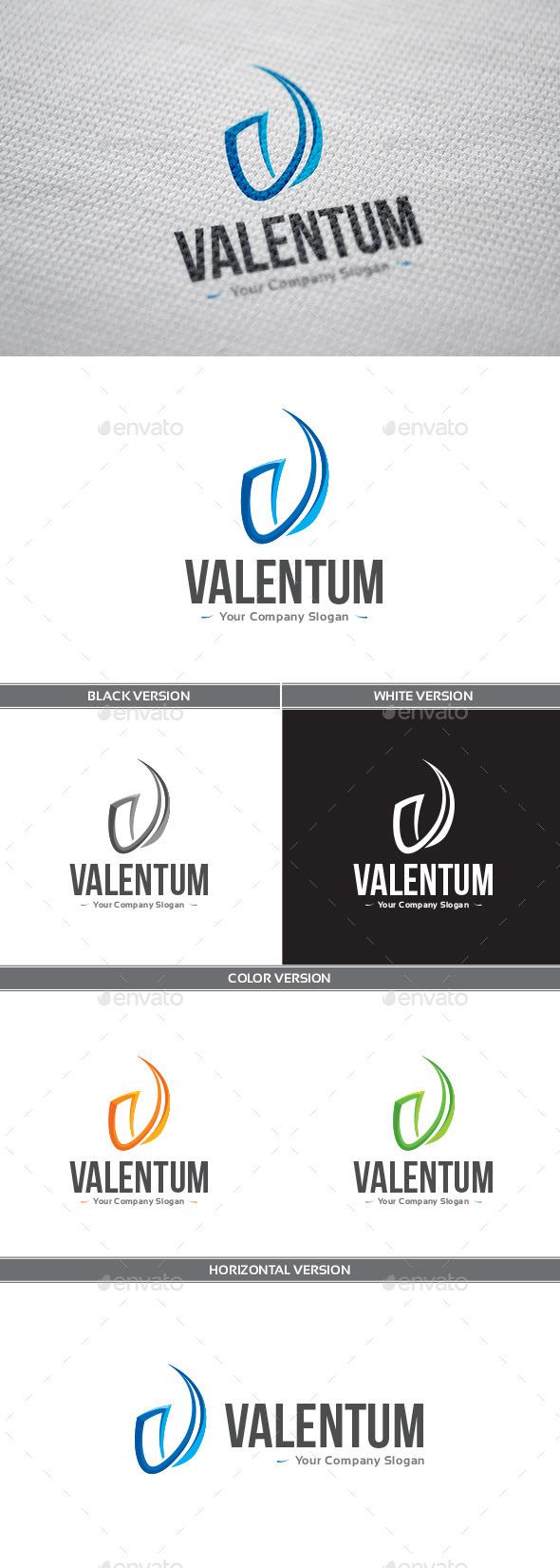 GraphicRiver Valentum Logo 9328117
