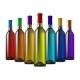Color Glass Wine Bottles - GraphicRiver Item for Sale