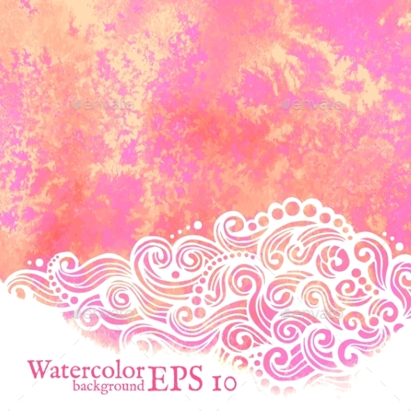 GraphicRiver Watercolor Background 9328631