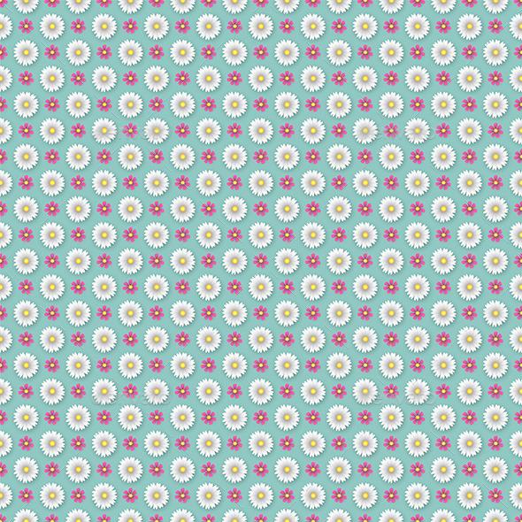GraphicRiver Flower Wallpaper Pattern 9328641