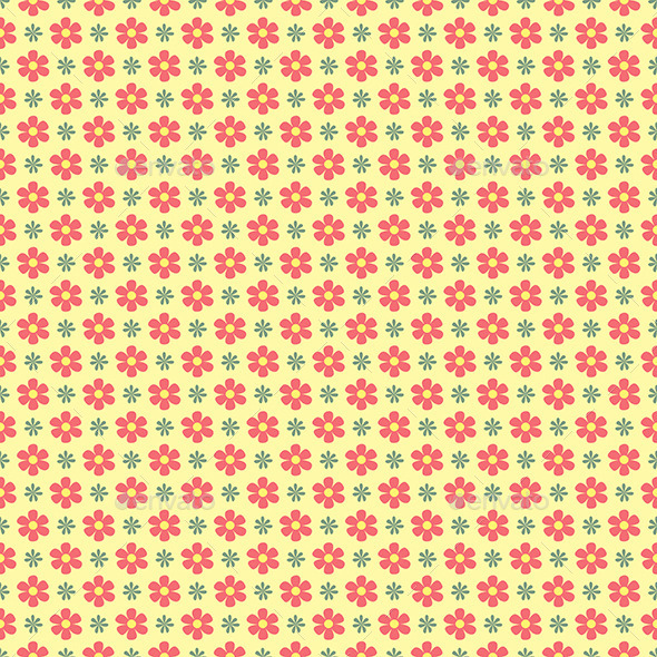 GraphicRiver Floral Wallpaper Pattern 9328794