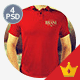 Realistic Polo Shirts Mock-ups - GraphicRiver Item for Sale