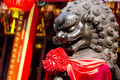 Chinese Stone Lion in Chinese Temple - PhotoDune Item for Sale