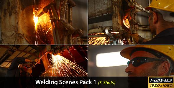 Welding Scenes Pack 1