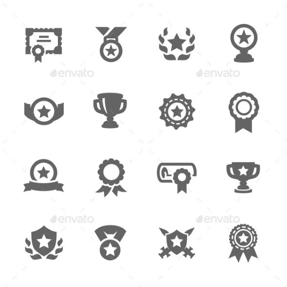 GraphicRiver Awards Icons 9329186