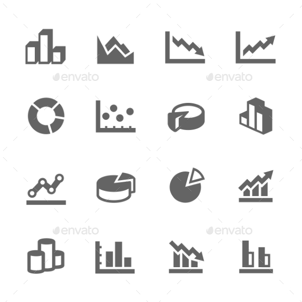 GraphicRiver Graph Icons 9329193