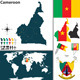 Map of Cameroon - GraphicRiver Item for Sale