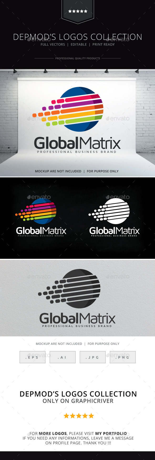 GraphicRiver Global Matrix Logo 9329575