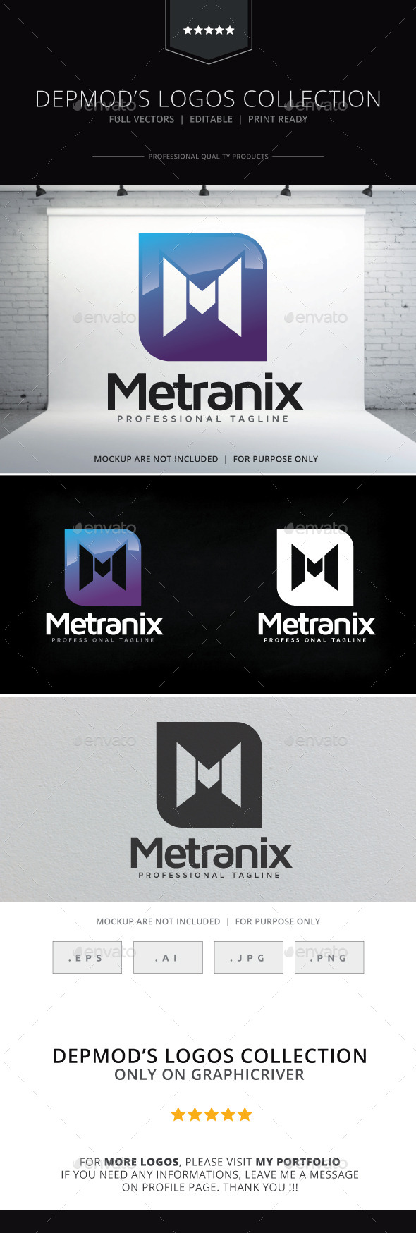 GraphicRiver Metranix Logo 9329617