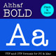Althaf Bold - GraphicRiver Item for Sale