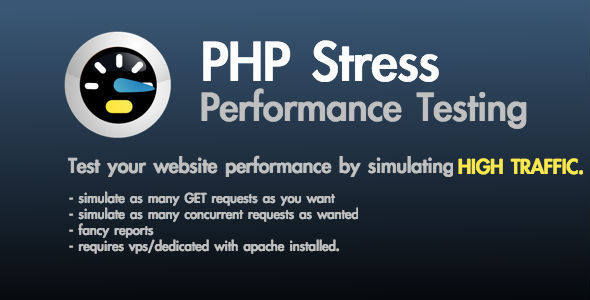 CodeCanyon PHP Stress Website Performance Testing 9330719