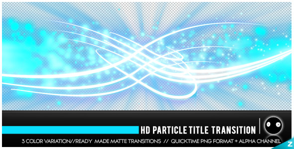 PARTICLE TITLE TRANSITION HD