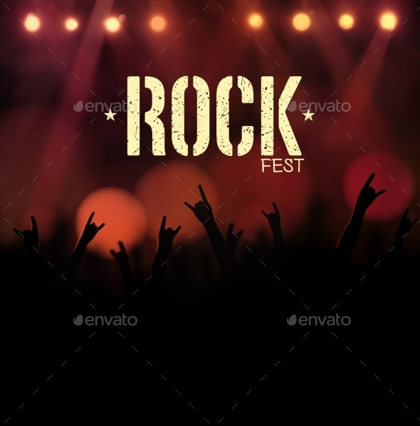 GraphicRiver Rock Festival 9330862