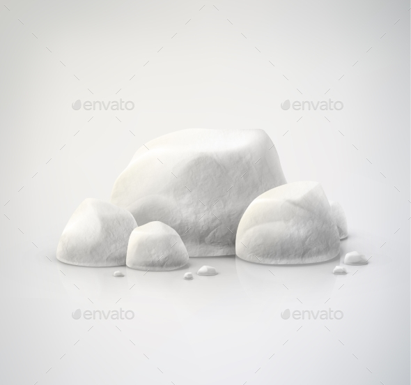 GraphicRiver Set of Stones 9330871