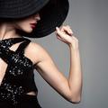 Beautiful Woman In Hat. Retro Fashion. - PhotoDune Item for Sale