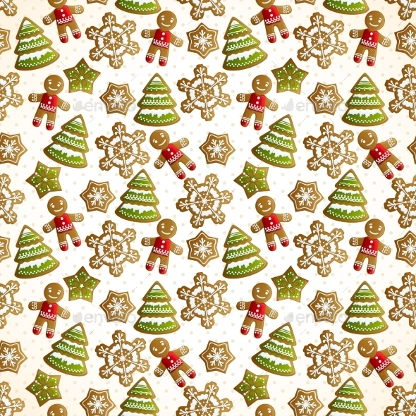 GraphicRiver Christmas Seamless Pattern 9331182