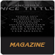 Le Journal Magazine - GraphicRiver Item for Sale