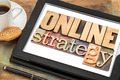 online strategy on a tablet - PhotoDune Item for Sale