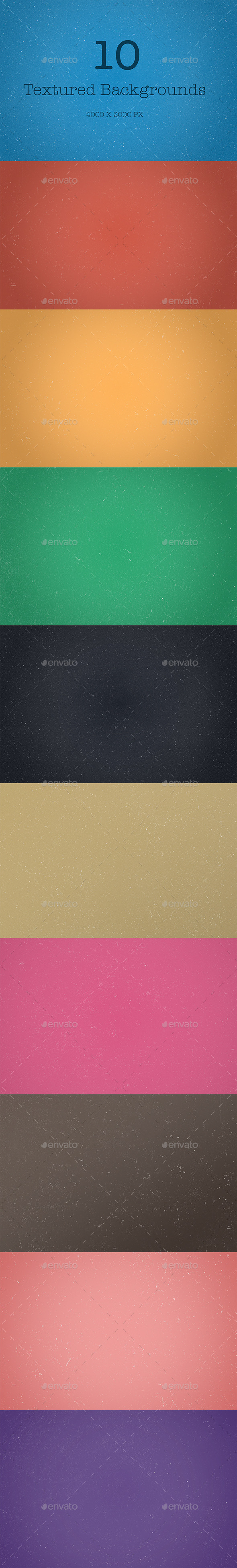 GraphicRiver 10 Textured Backgrounds 9332147