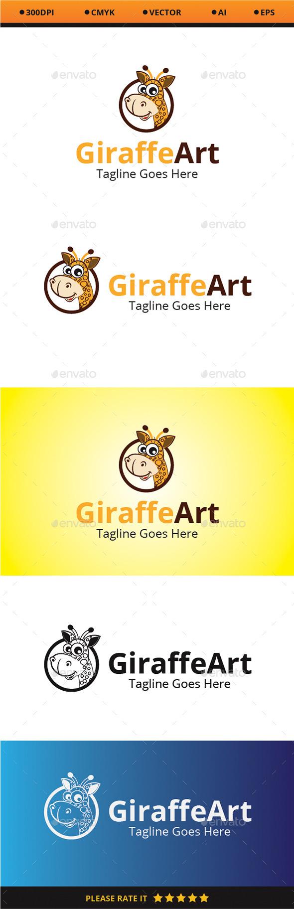 GraphicRiver Giraffe Art 9319193