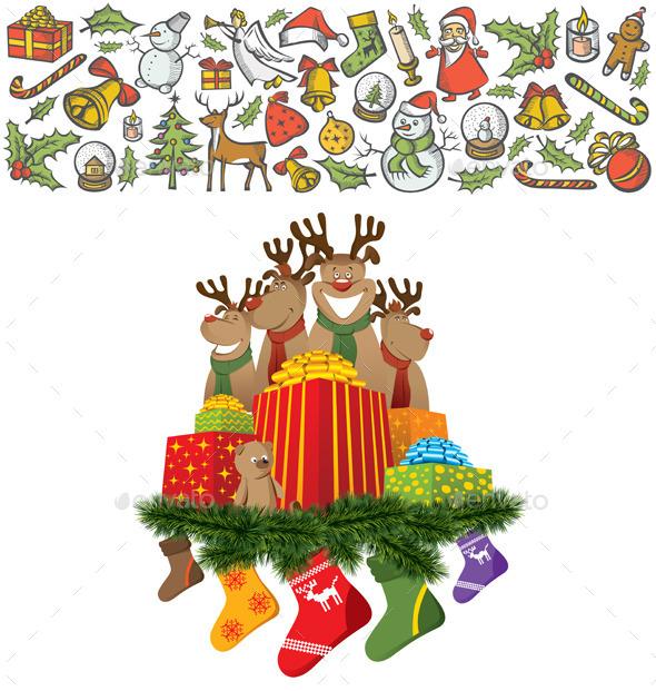 GraphicRiver Christmas Card 9332404