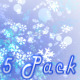 Christmas Winter Snow 5 Pack - VideoHive Item for Sale