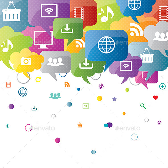 GraphicRiver Social Network and Internet Business 9332410