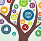 Tree and Communication in Social Media