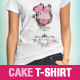 Cupcake / Cake T-shirt - GraphicRiver Item for Sale