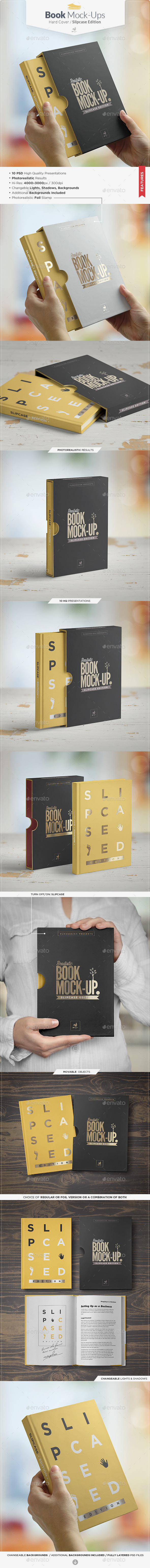 GraphicRiver Book Mock-up Slipcase Edition 9332736