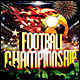 Football Championship Poster/Flyer - GraphicRiver Item for Sale