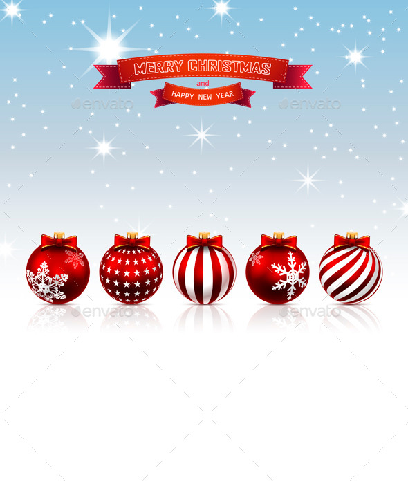 GraphicRiver Christmas Background 9332906