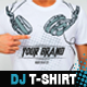 Dj Headphones T-Shirt Vector Illustration Template - GraphicRiver Item for Sale