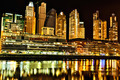 Puerto Madero in Buenos Aires at night - PhotoDune Item for Sale