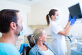 Adult woman getting her checkup at the Dentist - PhotoDune Item for Sale