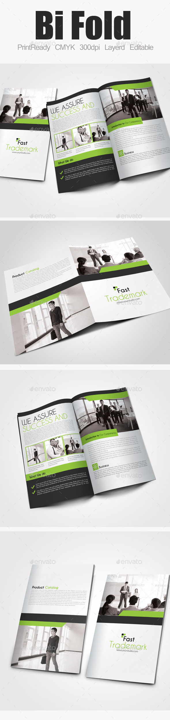 GraphicRiver Bi Fold Business Brochure 9291302