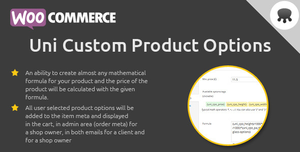 CodeCanyon Uni Custom Product Options 9333768