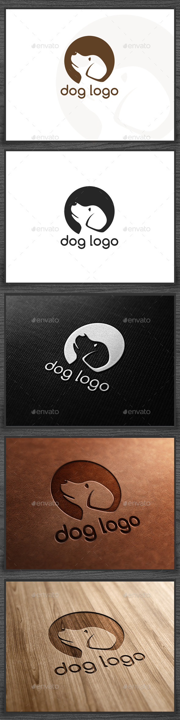 GraphicRiver Dog Logo 9333845