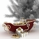 Christmas sledges of Santa with gifts and christmas tree - PhotoDune Item for Sale