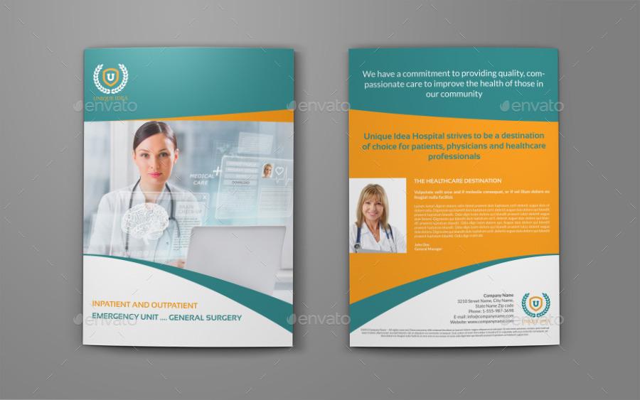 Bi Fold Brochure Design Templates