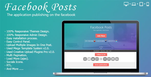 facebook posts - CodeCanyon Item for Sale