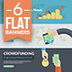 Flat Concepts for Finance and Business  - GraphicRiver Item for Sale
