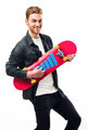 Young man with a skateboard - PhotoDune Item for Sale