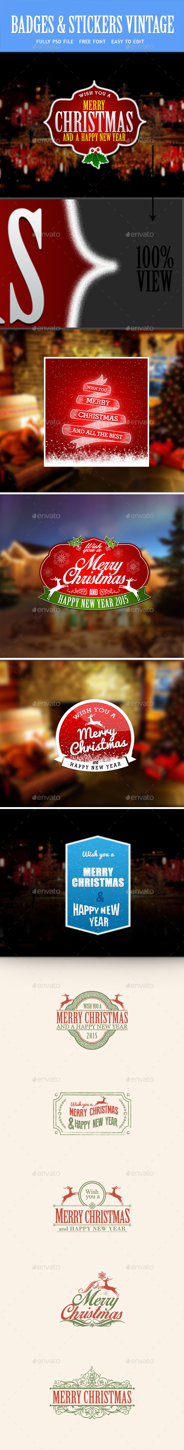 GraphicRiver Christmas and New Year 9334614