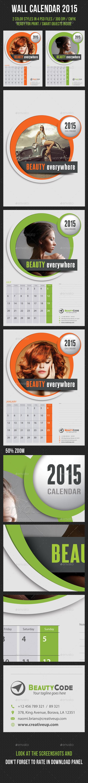 GraphicRiver Wall Calendar 2015 V05 9334630