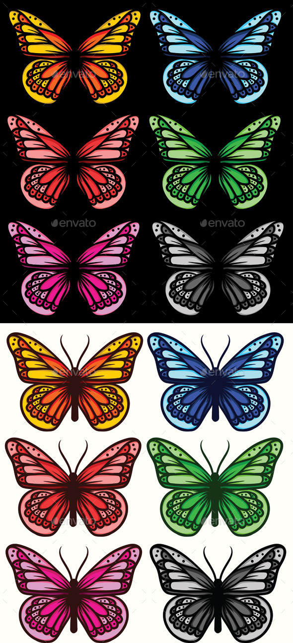 GraphicRiver Butterfly 9334664